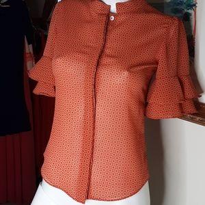 Pink Tartan blouse